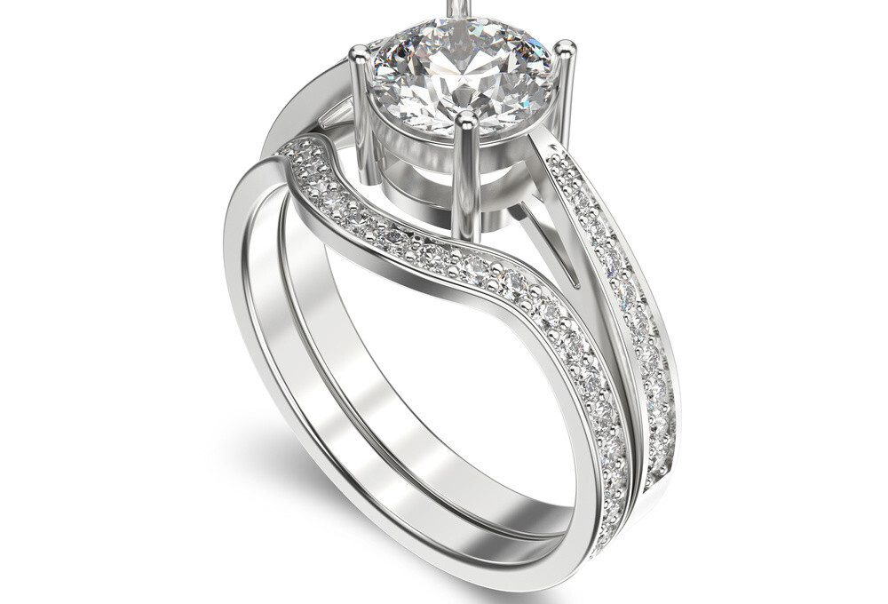 Matching Engagement and Wedding Ring