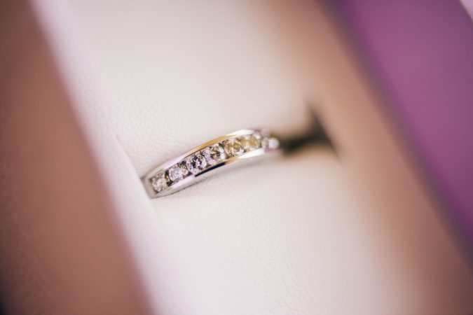 Designing Your Own Gold Diamond Wedding Band